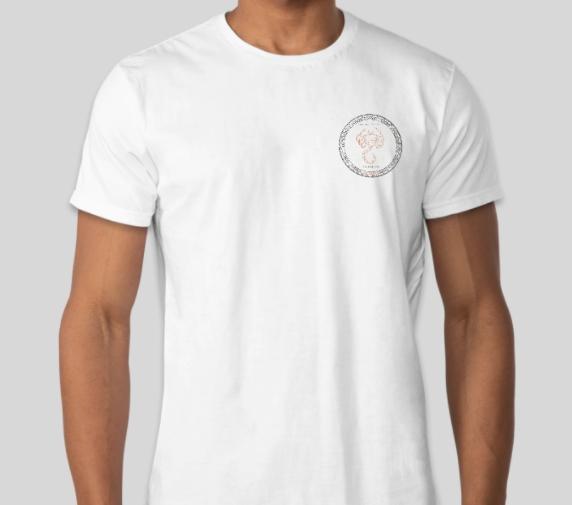 Scorpio T-Shirt with Botswana Agate Bracelet